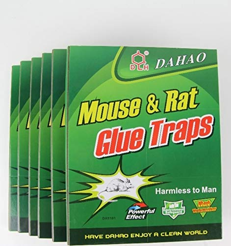Dahao 3 x Mouse Rodent Glue Trap Broads