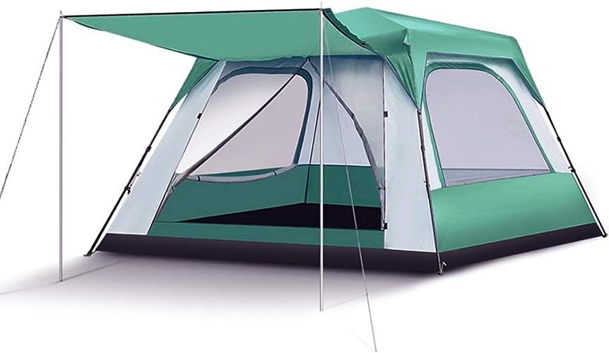 Tente de camping en plein air for la famille 6-8-10 personnes tente en plein air double couche imperméable à l'eau des tentes géantes for la randonnée, la pêche, le camping en famille et les activités