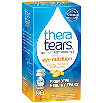 Theratears Nutrition Omega-3 Supplement 90 Capsules