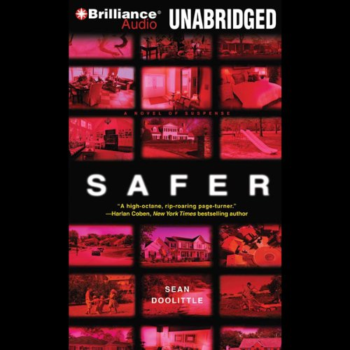 Safer audiobook cover art
