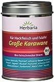 Herbaria 'Grosse Karawane' Mischung für Hackfleisch und Falafel, 1er Pack (1 x 90 g Dose) - Bio
