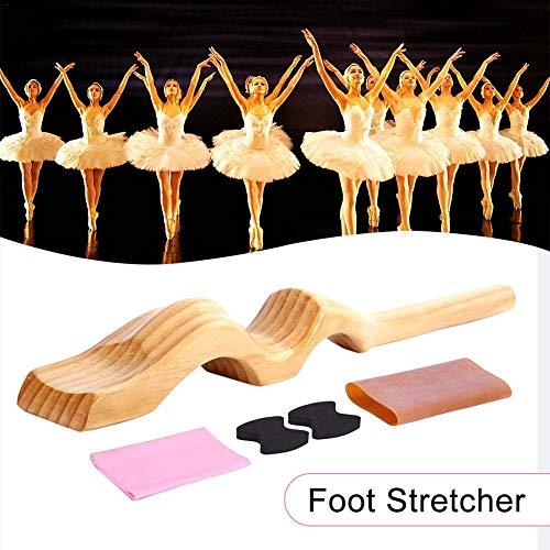 Lowest Price! Klsk Wooden Foot Stretcher Dancer Device Instep Ballet Exercise Supplies Ballet Instep...