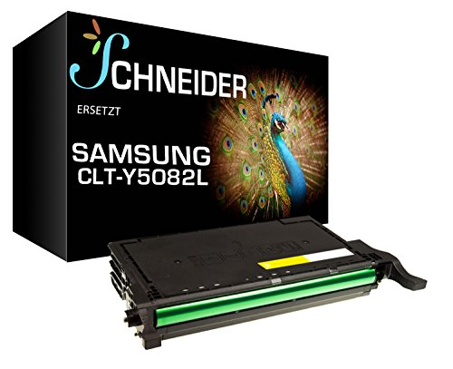 XL BUSINESS Toner 25% mehr Leistung ersetzt Samsung CLT-Y5082L CLP-620 CLP-620ND CLP-670 CLP-670N CLX-6220FX CLX-6250FX CLP620 CLP620ND CLP670 CLX6220FX CLX6250FX Druckquailtät wie beim Original