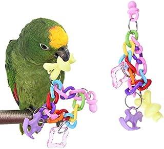 Yogasada 30cm pr/ácticos para Mascotas Loros Aves Stand Bar Chew Toy Suministros de Aves Columpio de Madera del Grano de Escalera Jaula Bares estaci/ón elevada