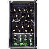Syntrox Germany Mini-Bar, Getränkekühlschrank, Showcase, Kühlschrank mit Glastür,...