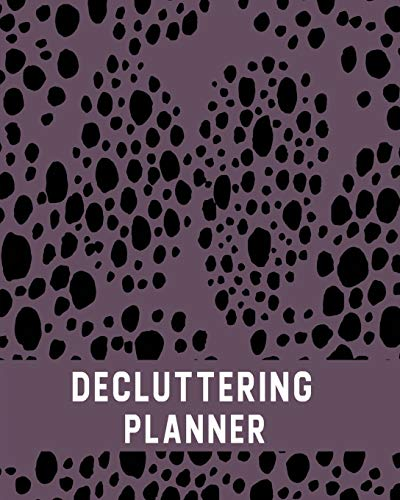 Spring Cleaning Calendar: Spring Cleaning& Decluttering | 12-Month Cleaning Organizer – Plum Dots (Home Tidying Notebook, Band 5)