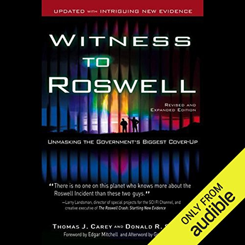 Witness to Roswell audiobook cover art