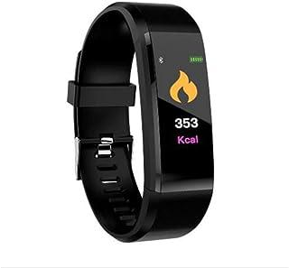 XNNDD Pulsera Inteligente Monitor de Salud Frecuencia cardíaca/Presión Arterial/Podómetro Reloj Deportivo Impermeable para Hombres Reloj Deportivo para Mujeres