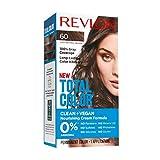 Revlon Total Color Coloration Permanente Clean & Vegan N°60 Châtain Clair Naturel 1 Unité