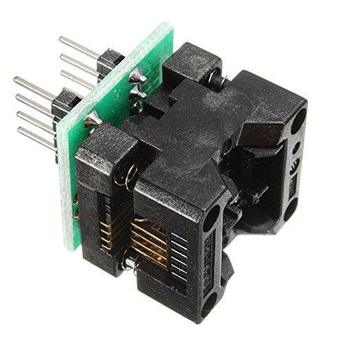 DollaTek SOP8 a DIP8 IC Adaptador de Enchufe del zócalo Programador OTS-16-03 para la EEPROM 24xx 93xx