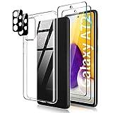 TOCOL Cover Compatibile Samsung Galaxy A72 4G/5G, 2 Pezzi Pellicola Protettiva in Vetro...