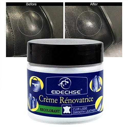 Alextry Leder Vinyl Repair Filler Compound Crème voor leer, restauratie, scheuren, brandwonden, autostoel, bank, gaten