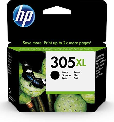 HP - 305XL 1 Pieza(s) Original Alto Rendimiento (XL) Negro