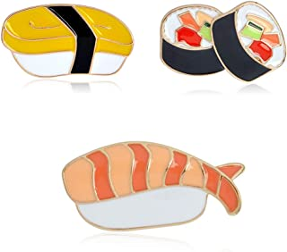 PunkStyle Creative Plant Animal Fruit Enamel Brooches Pins for Women Girls Clothing Bag Decor
