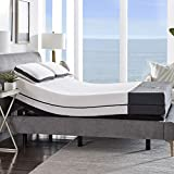 Ananda 12' Pearl and Cool Gel Infused Memory Foam Mattress with Premium Adjustable Bed Frame Combo, Head Tilt, Massage, USB, Zero Gravity,Anti-Snore … (Queen)