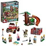 LEGO 76939 Jurassic World Huida del Dinosaurio Stygimoloch, Set de Iniciación para Niños a Partir de 4 Años con Figuras y Cabaña del Árbol