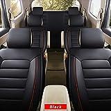 全天候用カスタムフィットシートカバー トヨタ Toyota luxuryアクア 完全保護防水カーシートカバーヘッドレストと腰部クッション付きの超快適性ラグジュアリーパッケージ ブラック フルセット