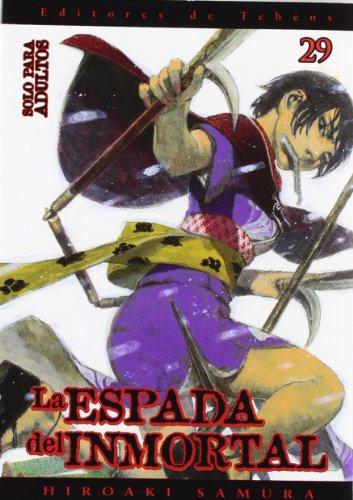 La espada del inmortal 29 (Seinen Manga)