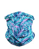 iHeartRaves Aquatic Jungle Multi-Functional Face Cover Seamless Bandana Mask