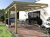 Rügen I Pérgola para terraza acristalada 500x 400cm pérgola para terraza