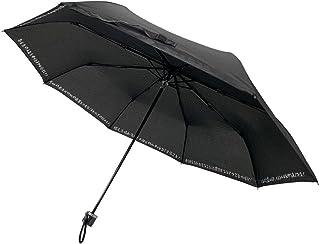 CAFEDIMLY(カフェディムリー)あなたの心を元気にしてくれるアンブレラ 心に響く8つのフレーズでモチベーションUP間違いなし 自己啓発 メンズ傘 折りたたみ傘 ブラック 親骨55cm 風に強くて丈夫な8本骨使用