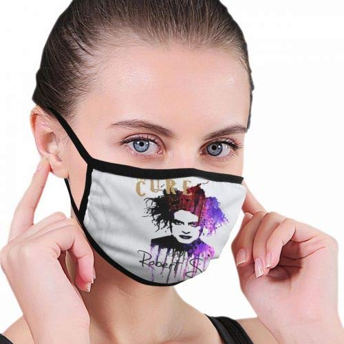 The Robert Cure Smith Unisex Washable Reusable Facial Decorations For Personal Protection
