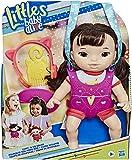 Hasbro Littles Baby Alive Carry'n Go Squad muñeca con riñonera y accesorios E7175