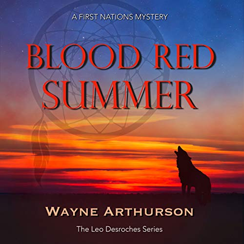 Blood Red Summer audiobook cover art