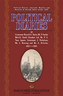 Political Diaries: Of Lieutenant Reynell G. Taylor, Mr....