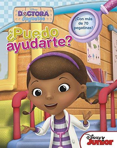 Doctora juguetes. Libro de pegatinas. ¿Puedo ayudarte? (Disney. Doctora Juguetes) (Spanish Edition)