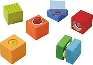 HABA 7628 Discovery Blocks Fun with Sounds, for Ages 12 Months and up (Made in Germany)