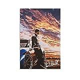 LIANGBO Paul Walker Fast and Furious Poster dekorative
