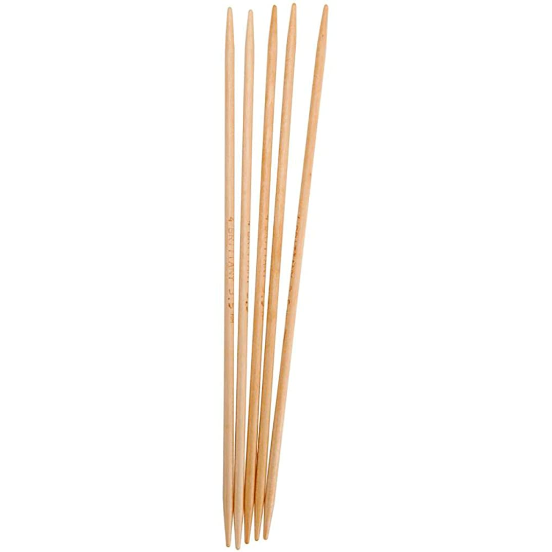 Brittany Double Point 10-inch (25cm) Knitting Needles (Set of 5); Size US 9 (5.5 mm) 4486