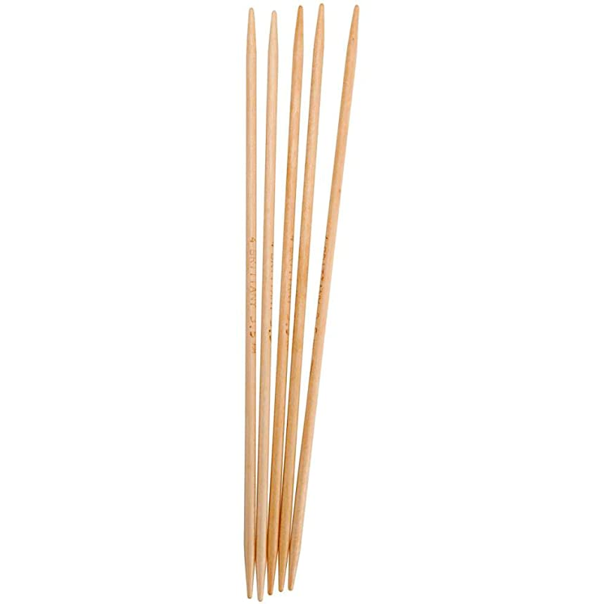 Brittany Double Point 10 inch (25cm) Knitting Needles (Set of 5) Size US 3 (3.25 mm) 4424