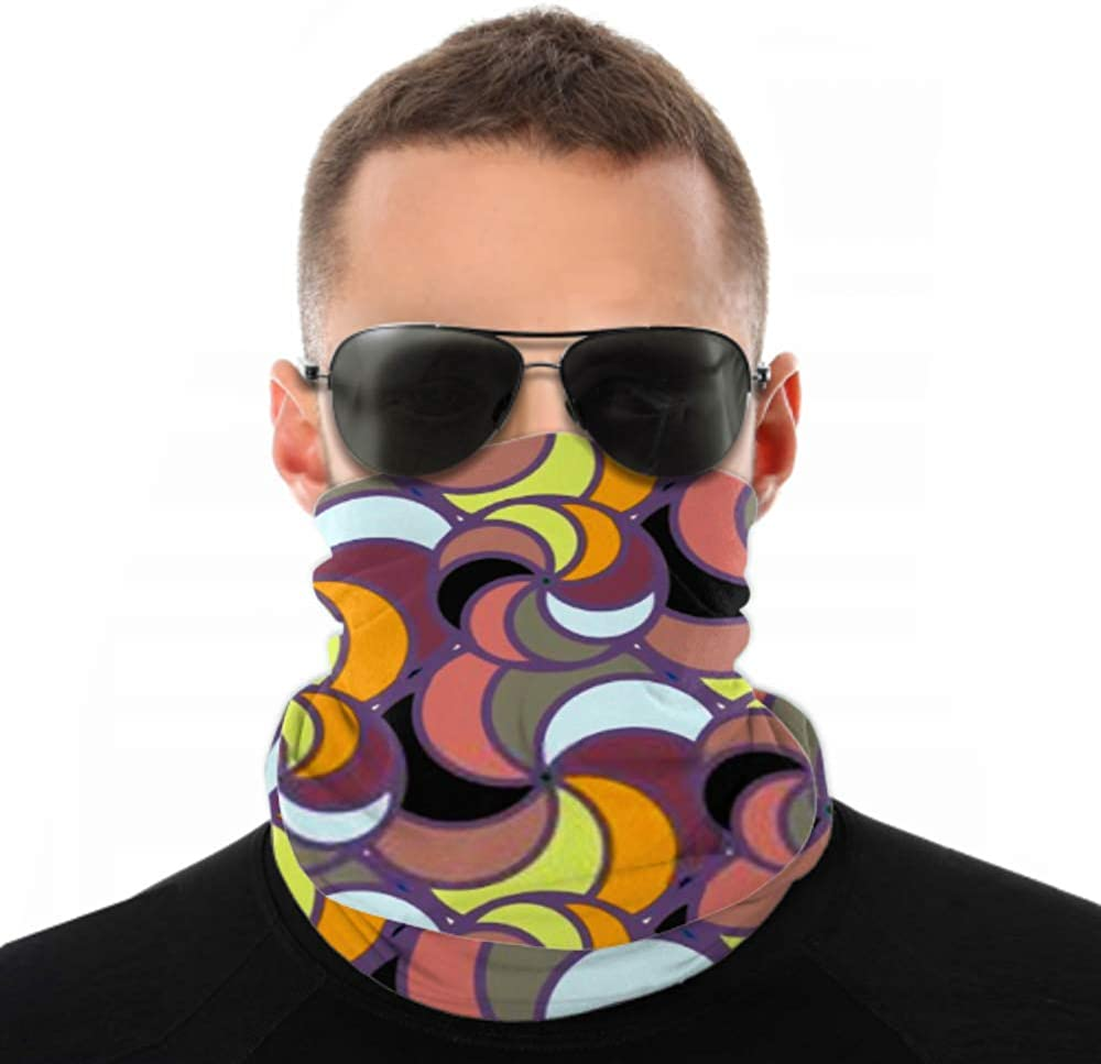 Headbands For Men Women Neck Gaiter, Face Mask, Headband, Scarf Abstract Color Seamless Pattern New Background Turban Multi Scarf Double Sided Print Head Wraps For Women For Sport Outdoor