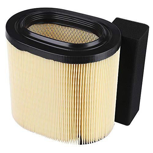 Replacement Air Filter 1240482 for 2008 2009 2010 2011 2012 2013 2014 2015 Polaris Ranger 800 XP Crew EFI 900, RZR 800 S/RZR 800 4/ RZR 900 Diesel Air Filter Kit - Replace Polaris Air Filter 1240482