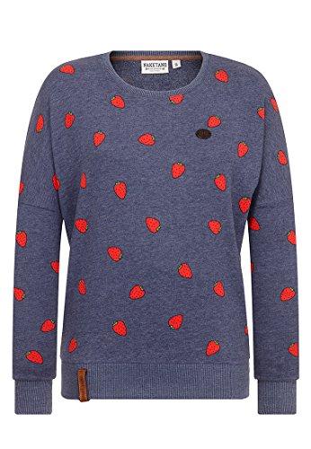 Naketano Damen Sweater A Gift Can Be A Curse Sweater