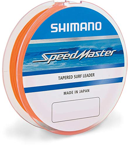 Japan-Shimano Nylon Speedmaster Surf Taper LD Orange 10x15m - D.0,26-0,57mm - R.4,60-17,00Kg - SMTLSF2657