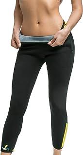 VEOFIT Pantalon de Sudation Femme pour Tonifier Les Jambes et Obtenir Un Ventre Plat sans Cellulite: Legging Amincissant e...