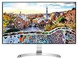 LG 27MP89HM-S.AEU Monitor per PC Desktop 27' LED IPS, Full HD 1920x1080, 5ms, AMD FreeSync 75Hz, 2x HDMI, 1x VGA, Borderless, Argento