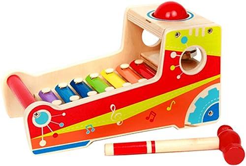 LINGLING-klopfen am klavier Handklopfen am Klavier Kind Xylophon Acht-Ton p gogisches Spielzeug Geschenk (Größe   Single Ball)