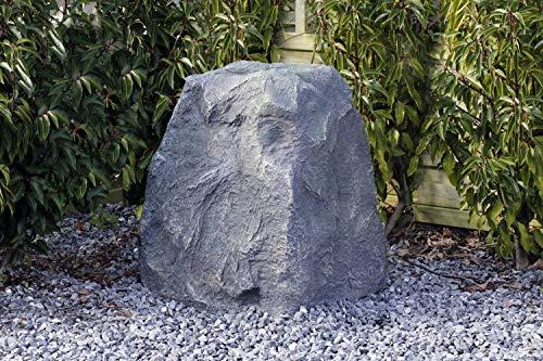 Gartenfelsen 60x50cm Abdeckfelsen Filterabdeckung Gartendeko Trafohaus Abdeckung Findling