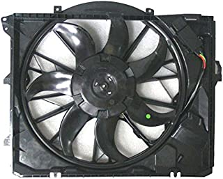 Dual Radiator and Condenser Fan Assembly - Cooling Direct For/Fit BM3117101 06-13 BMW 3-Series 08-13 1-Series AT w/o Turbo w/o SULEV (N51)