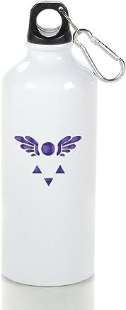 Undertale simbolo Delta Rune Cool–Borraccia sportiva in alluminio 400/500/600ML