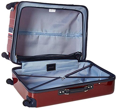 Tommy Hilfiger Lochwood Hardside Spinner Luggage, Burgundy, 28 Inch