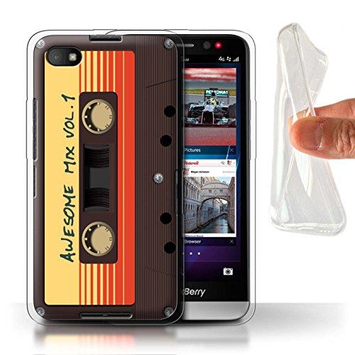Hülle Für BlackBerry Z30 Comic Wächter Inspiriert Genial Mix Tape Design Transparent Dünn Flexibel Silikon Gel/TPU Schutz Handyhülle Case