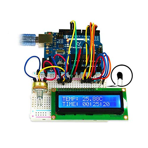 Freenove Ultimate Starter-Kits mit Controller kompatibel mit Arduino - Produkte, die mit verschriebenen Arduino-Boards zusammenarbeiten