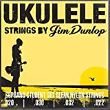 Dunlop DUY201 Soprano Student Ukulele Strings, 4 Strings/Set