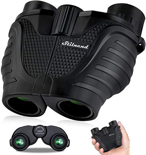 Binoculars 15×25, HD Professional/Waterproof Binoculars with Low Light Night Vision, Durable & Clear BAK4 Prism FMC Lens Binoculars. Suitable for Outdoor Sports and Concert, Bird Watching