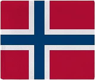 CafePress-Norwegian Flag-Soft Fleece Throw Blanket